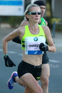 Sonia during the 2015 Berlin marathon