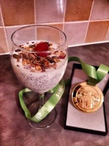 Chia-mpion pudding