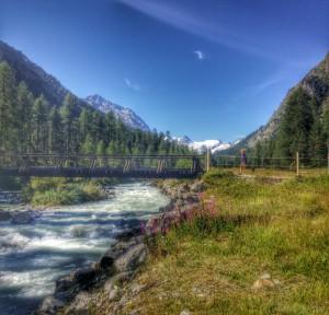 Stunning Val Roseg Glacier