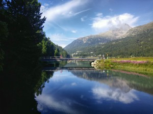 St Moritz, a place to reflect